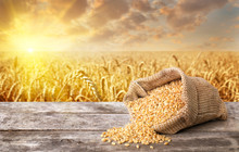 Uncooked Bulgur Wheat
