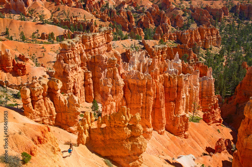 Keuken foto achterwand Rood traf. Bryce canyon