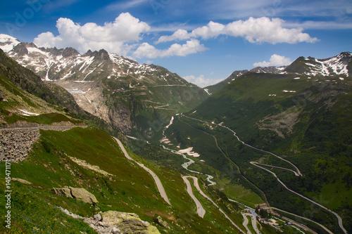 Fototapeta Rhone glacier