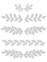 Set Of Branches Dividers