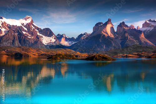Valokuva  patagonia, mountains, hills,