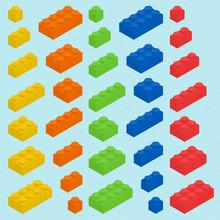 Plastic Blocks Set