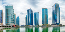 Jumeirah Lake Towers Panoramic Picture