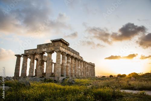 Tempio Sicilia Canvas-taulu