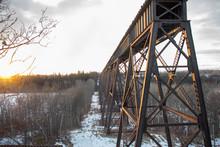 Abandoned Train Bridge