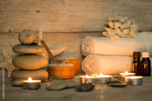 Foto op Plexiglas Spa Items for spa, towels