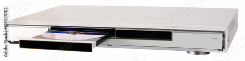 Cuadros en Lienzo DVD recorder with open tray