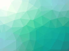 Green Teal Gradient Abstract P...