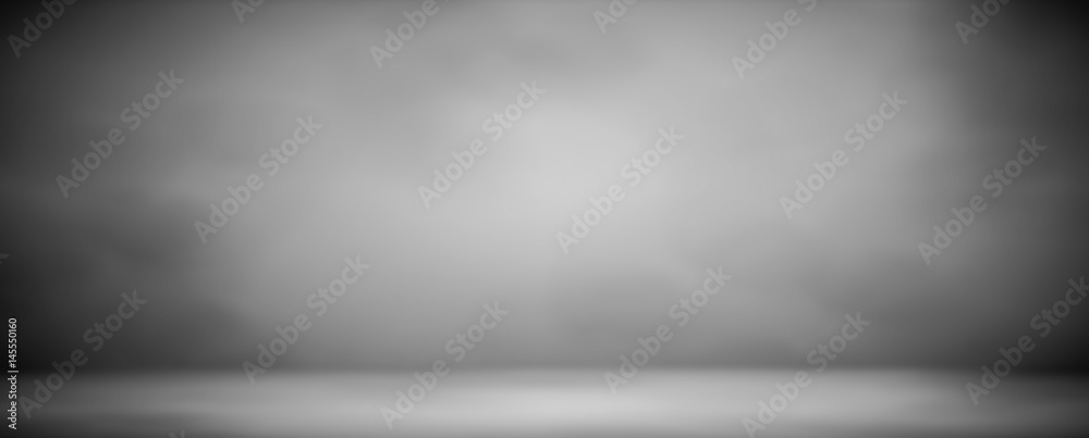 Fototapety, obrazy: abstract blur gray background