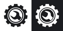 Vector Service Icon. Two-tone ...