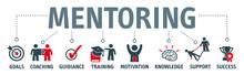 Banner Mentoring Concept Engli...