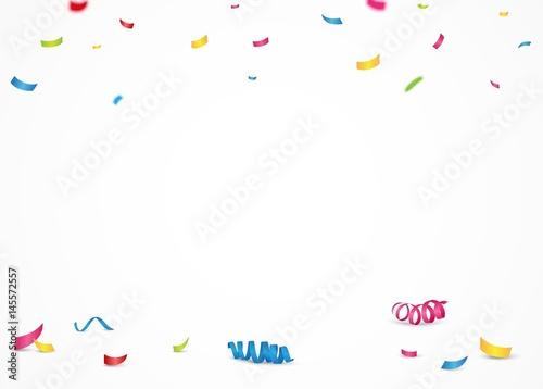 Obraz Colorful confetti background - fototapety do salonu