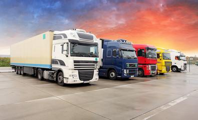 Truck, transportation, Frei...