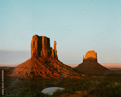 Acrylic Prints Monument Valley Sunset