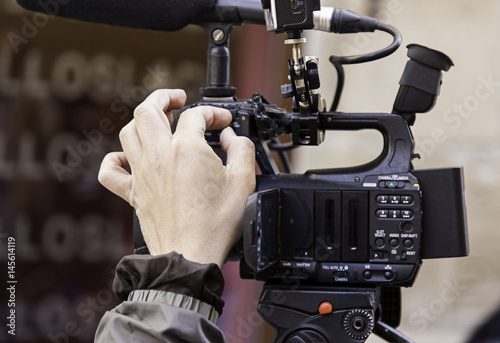 Recording with video camera #145614119