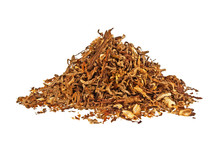 Tobacco Isolated On A White Ba...