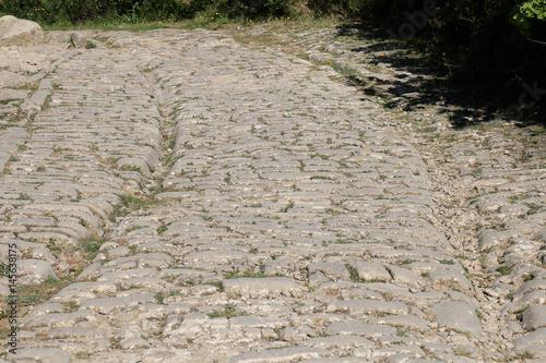 Fotografia Oppidum Ambrussum Voie Domitienne Pont Ambroix