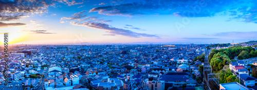 都市風景 日本 住宅街