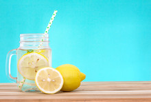 Citrus Lemonade Water With Le...