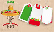 Sombrero Cinco De Mayo Chili Vintage