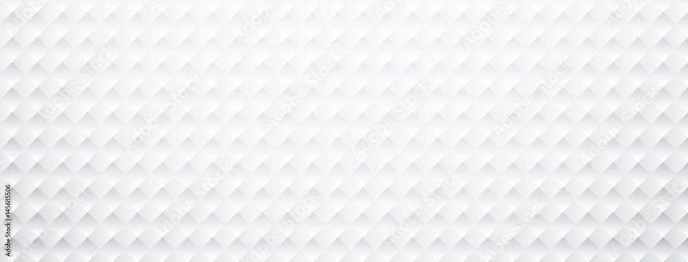 Fototapety, obrazy: White paper square textured banner.
