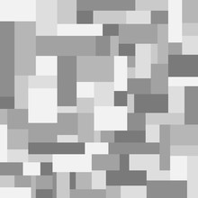 Seamless Wallpaper From Gray Rectangles