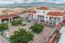 Santiago De Cuba City Hall And Parque Cespedes