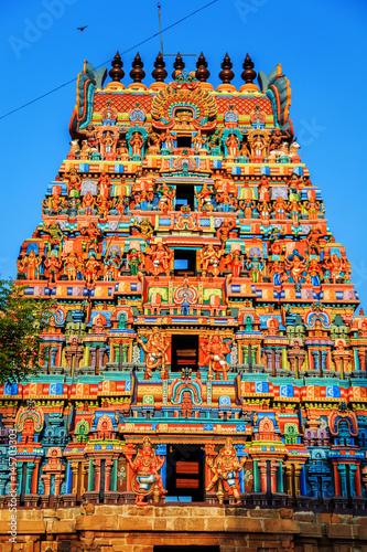 Foto op Plexiglas Temple Temple of Sri Ranganathaswamy in Trichy.