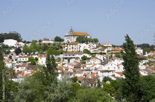 Landscape of Constancia old village, Santarem, Portugal Tablou Canvas