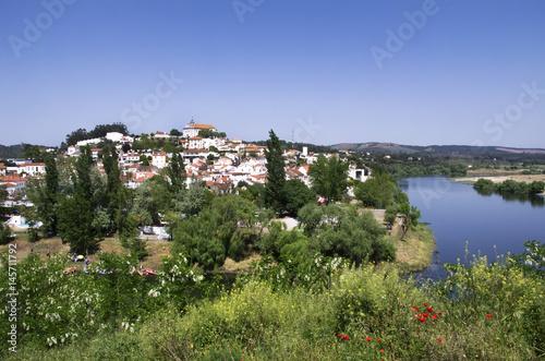 Valokuva historic village of Constancia. Santarem, Ribatejo, Portugal.