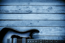Blues Guitar Background