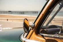 Woody Surf Car In California A...