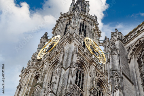 Keuken foto achterwand Antwerpen Exterior of Cathedral of Our Lady in Antwerp