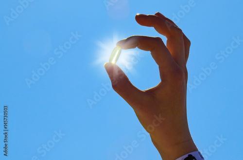 Fototapeta Vitamin D - Sonne obraz