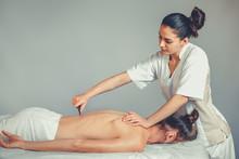 Massage Gua, Sha Therapy. A Yo...