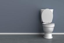 3d Raum Und Toilette