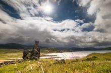 Burg Ardvreck Castle Am Loch Assynt