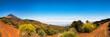 Wunderschönes Panorama vom Vulkan Teide, Teneriffa, Kanaren, Spanien
