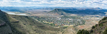 Panoramic View Of Graaff Reinet As Seen From The Toposcope