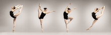 Collage Of Beautiful Ballet Da...