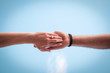 Hold my hand !