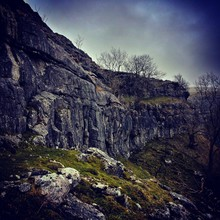 Cold Day At Malham Cove