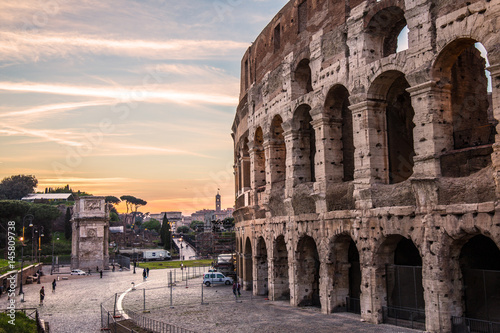 Colloseum Rom Wallpaper Mural