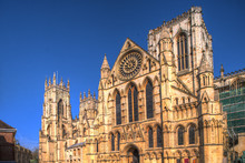 York Minster Cathedral In York. North Yorkshire.