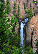 Cascading Tower Falls