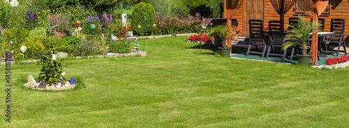 In de dag Tuin Gartenlandschaft - Bannerformat