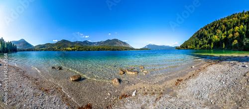 Plakat Walchensee, Alpy,