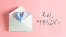 Hello Monday Message With A Bl...