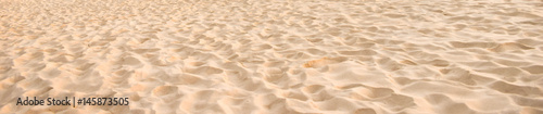 Photo  The beach sand texture