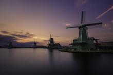 Windmills In Zaanse Schans, A ...